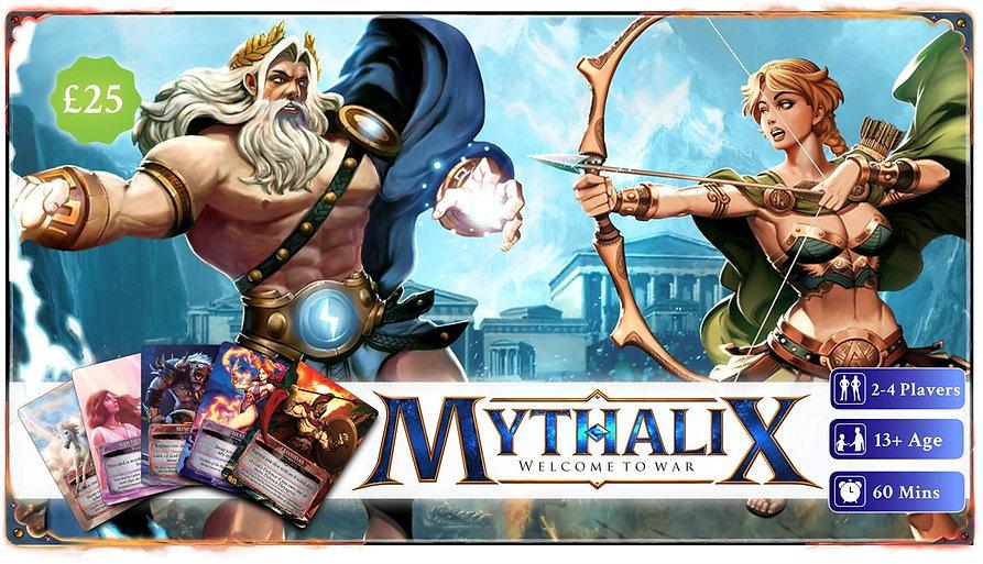 Mythalix Chapter 1: Greek Mythology By Sunrise Game Studio