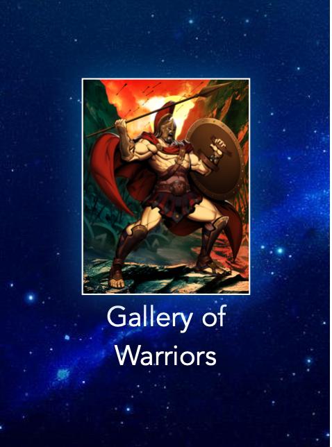 Gallery of Warriors