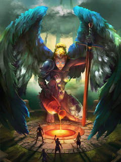 Arc Angel By Jerry Padilla