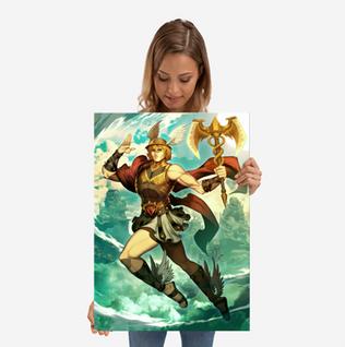 Hermes Large Print