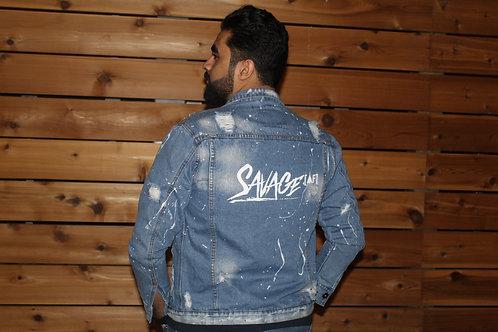 Savage AF Denim jacket