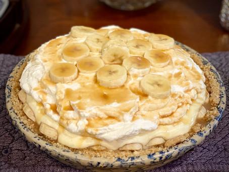 Banana Pudding Pie