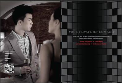 Asia Jet corporate brochure