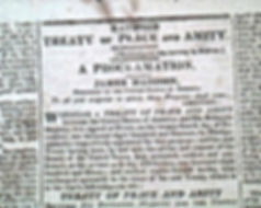 War of 1812 Treaty