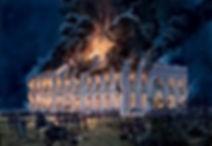 British Burn Washington D.C.