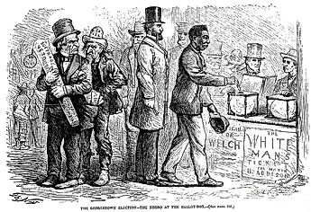African Americans voting