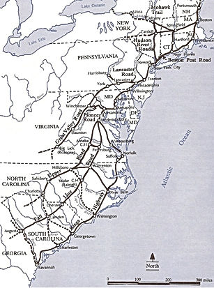 Colonial Road Network