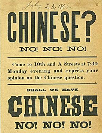 Anti Chinese racism