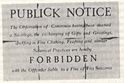 Puritan Laws