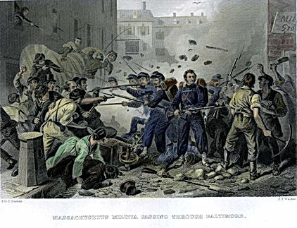 Baltimore Riot 1861
