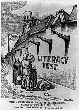 anti immigrant poltical cartoon