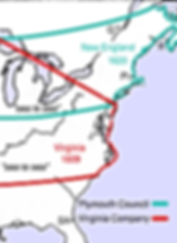 Plymouth Colony Boundaries