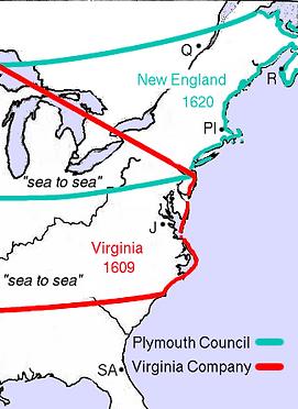 Plymouth Colony Boundaries