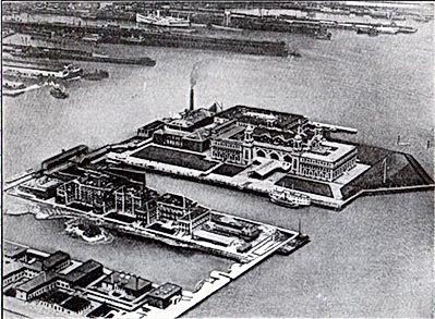 Ellis Island 1910