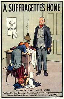 ant suffrage propaganda
