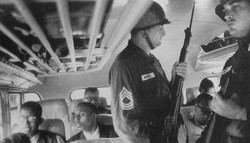 freedom riders under national guard
