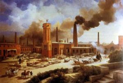 18th century industrial factory