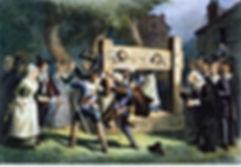 colonial stockcade punishment