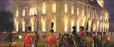 Burning the White House