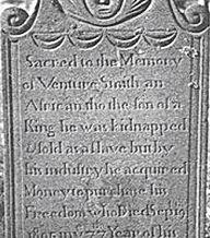 Venture Smith grave marker