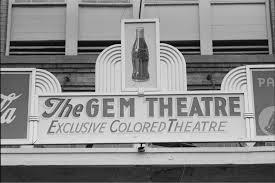 the gem theater. Waco, TX
