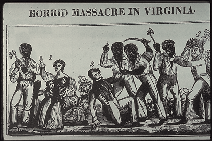 Nat Turner Rebellion Newspaper