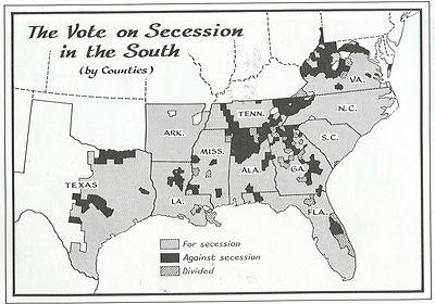 vote on secession 1860