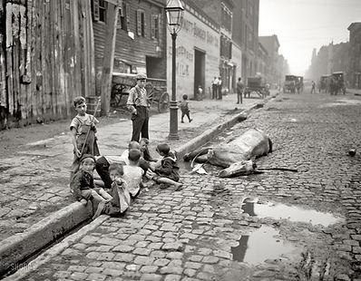 New York City slums 19th century
