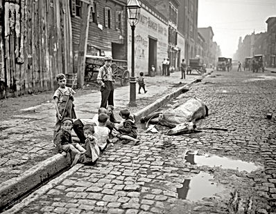 New York City slums 19th century