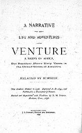 Narrative of Venture Smith