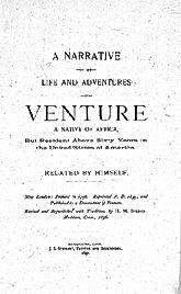 Narrative of Venture Smith
