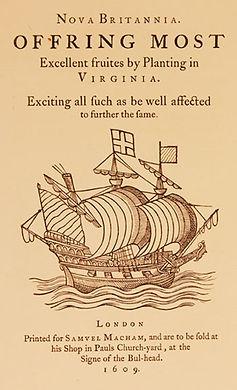 Virginia Company Advertisement of Jametown