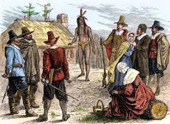 Pilgrims meets Squanto