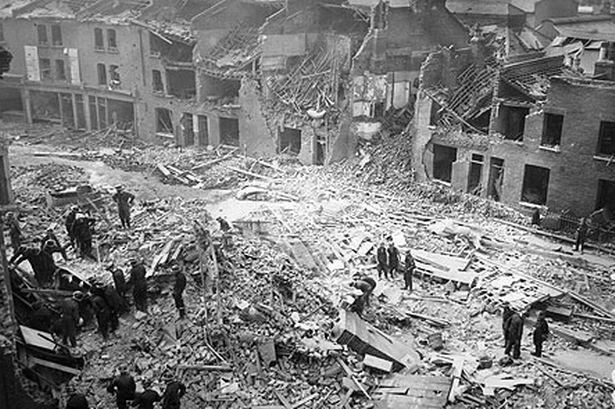 london rubble