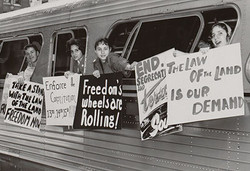 freedom riders leaving from DC