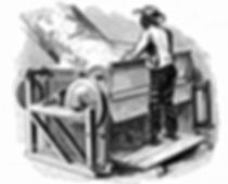 slave working a cotton gin