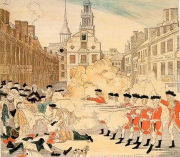 Paul Revere Boston Massacre