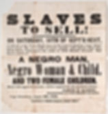 slave auction newspaper advertisement