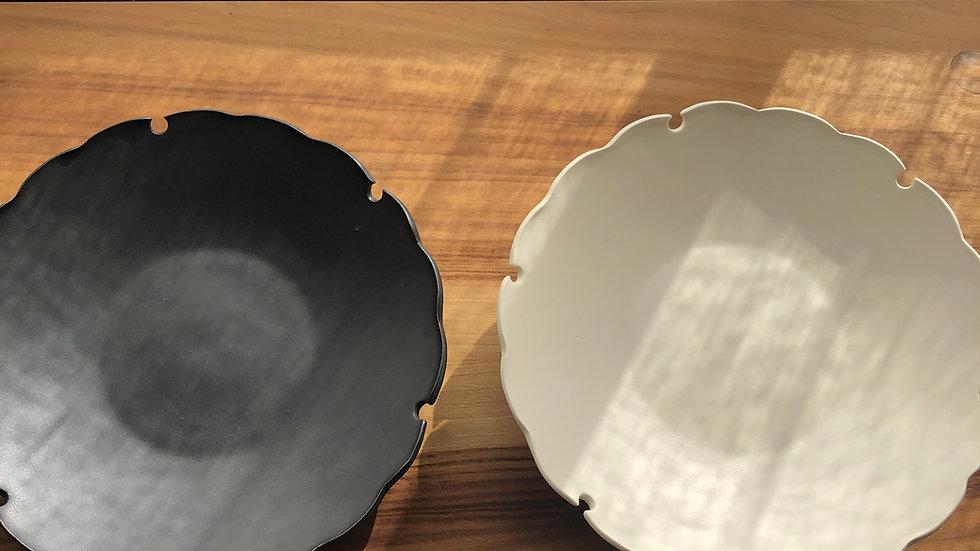 伝統意匠雪輪の美しさを感じるお皿 - yukiwa plate -