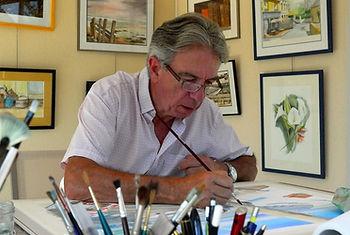 Atelier aquarelle à Saint Gildas de Rhuys