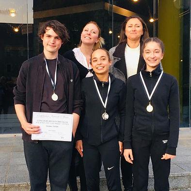 Concours régionnal CND prix jazz des danseurs de Sous le Signe de la Danse