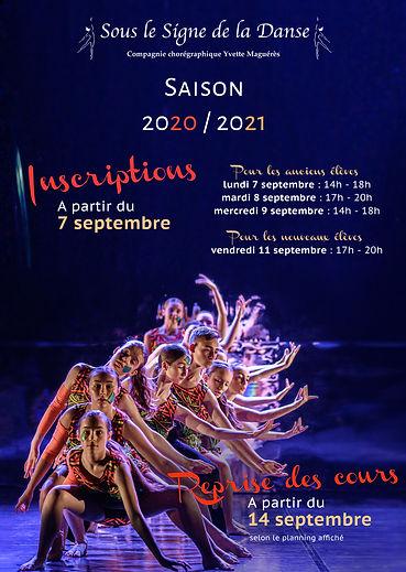 rentrée danse Brest 2020 souslesignedeladanse