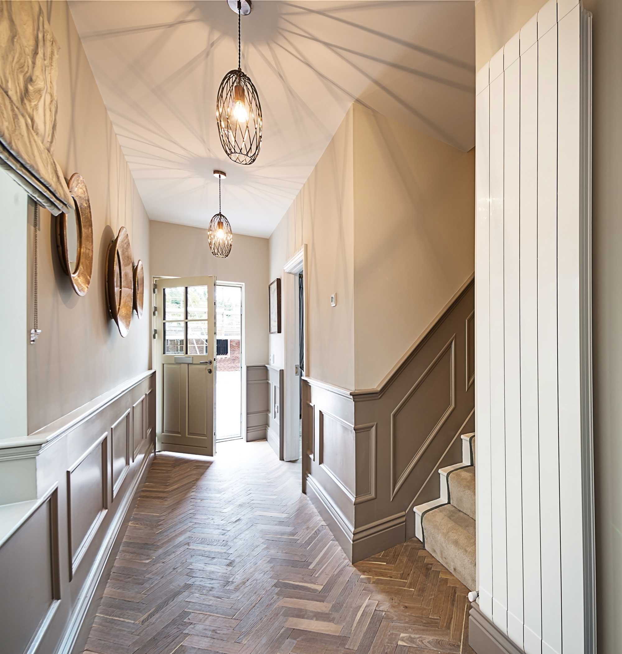 Inglenook Wood Hallway