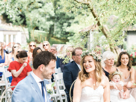 RICHARD AND AISLING'S STUNNING, OUTDOOR WEDDING AT THE MILLHOUSE