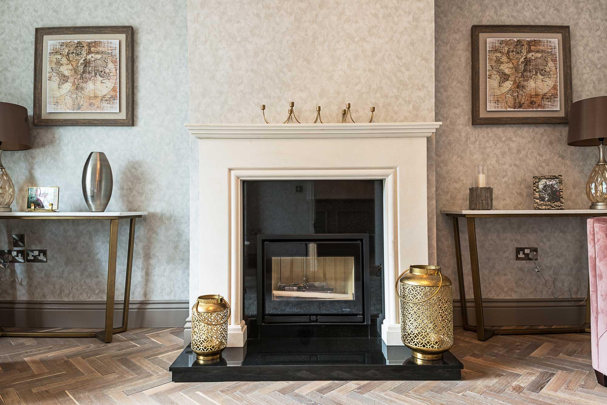 Inglenook Wood Fireplace