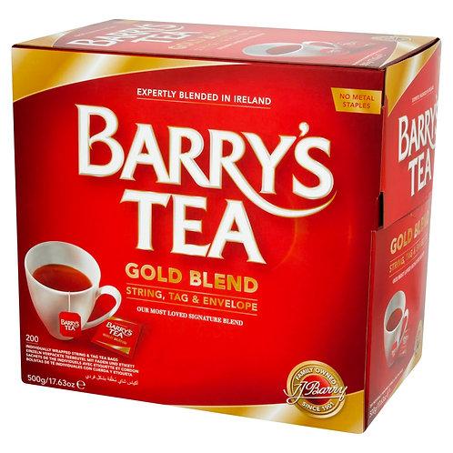 Barry's Tea Gold BlendString & Tag in Envelope (200 Bags)