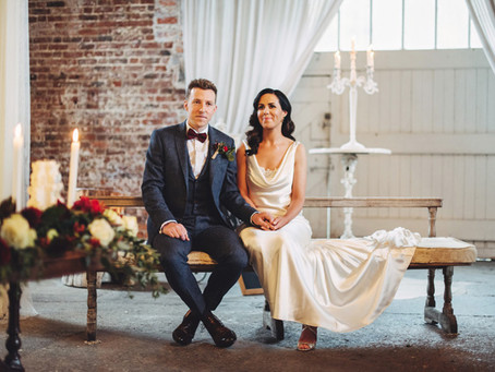 BEAUTIFUL WINTER WEDDING AT THE MILLHOUSE FOR JOE AND ÚNA