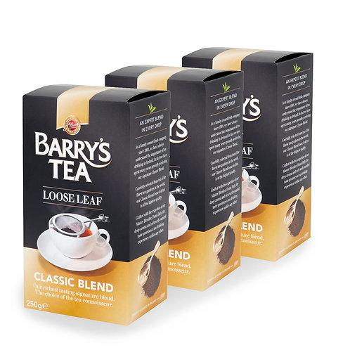 Barry's Tea Classic Blend Loose Tea 250g (3 Pack)