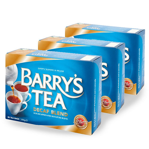 Barry's Tea Decaf - 80 Bags (3 Pack)