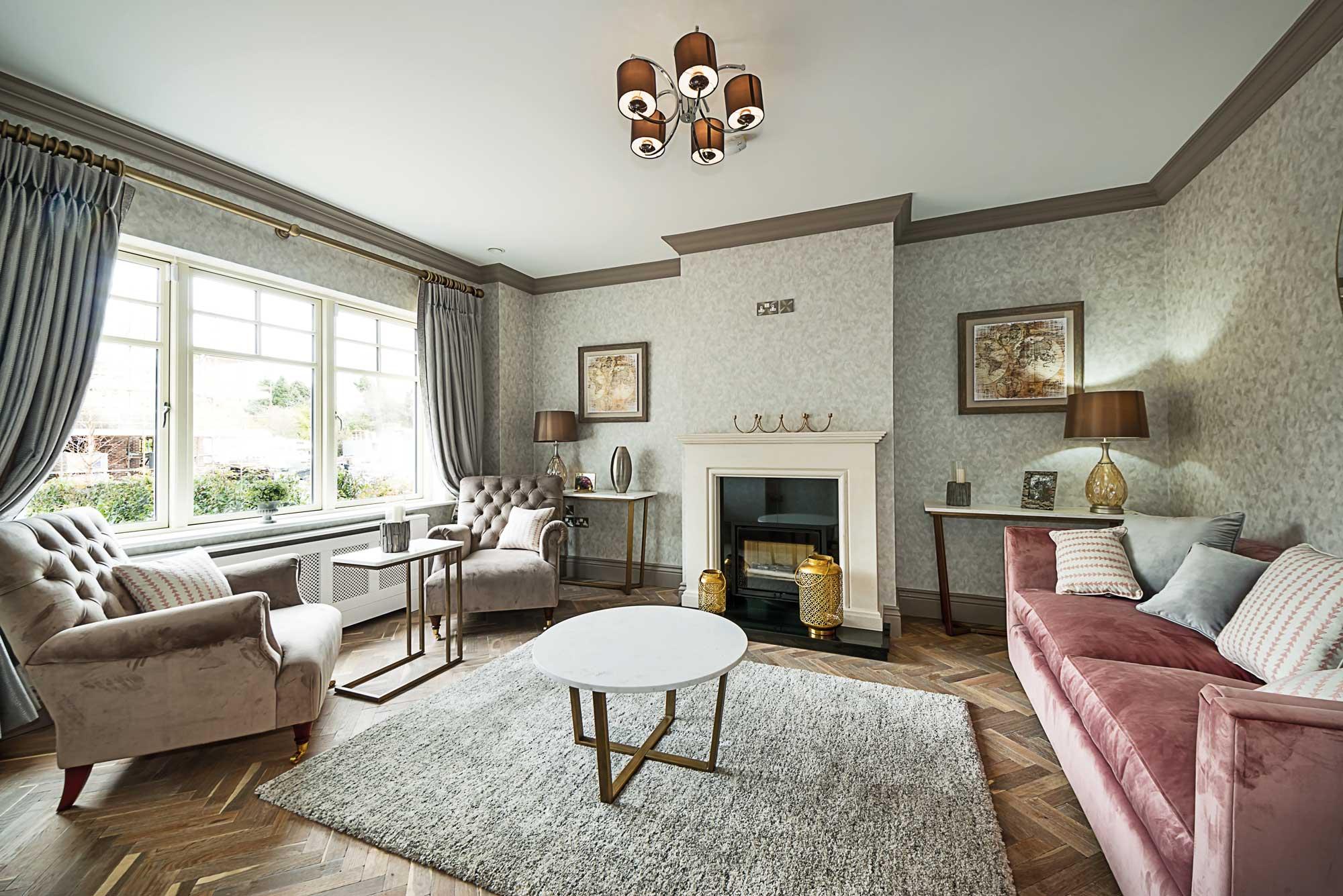 Inglenook Wood Living Room